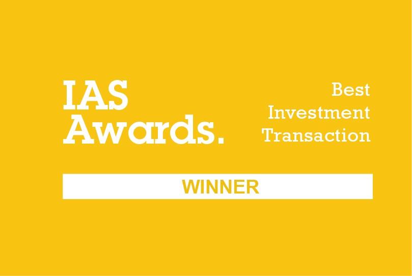 IAS Awards: Best Investment Transaction