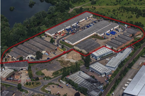 Page Pipeline Plumb into Larkfield Trading Estate, Aylesford