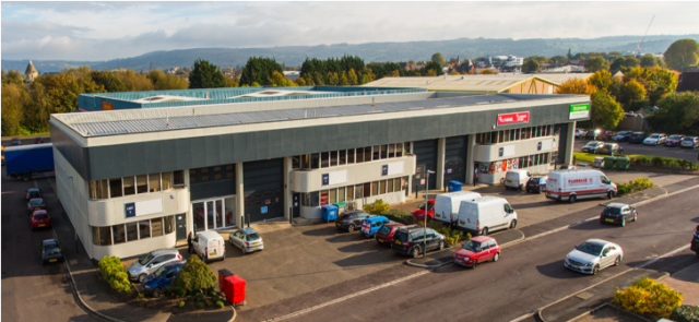 City Fibre Takes Unit 4, Cheltenham Trade Park