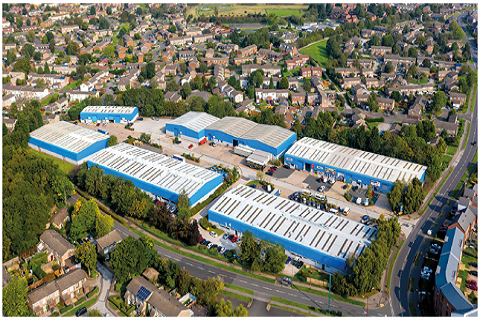 Frankley Industrial Estate, Birmingham, At Full Capacity