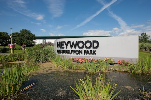 Canmoor Let Over 750,000 sq ft so Far This Year at Heywood Distribution Park