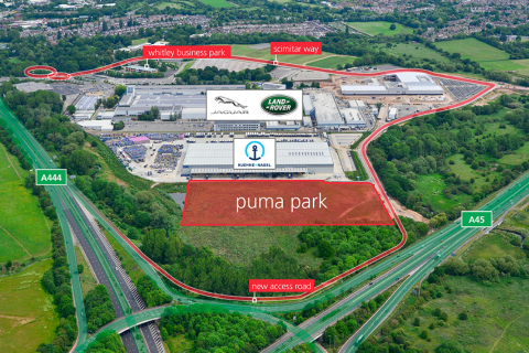 Puma Park, Coventry, Receives Planning