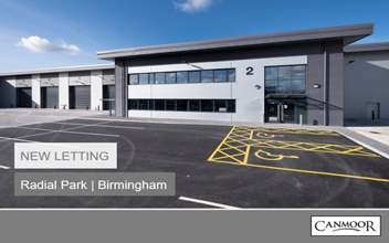 New letting- Unit 2- Radial Park, Birmingham