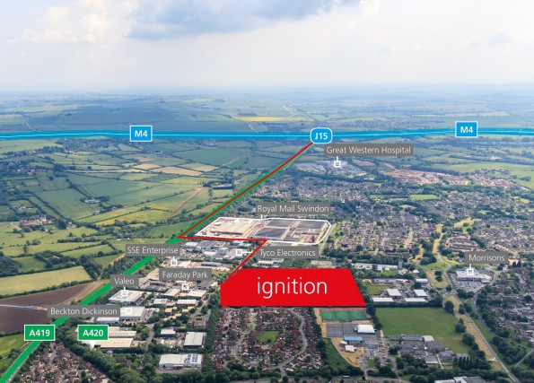 Ignition, Swindon – Planning Submitted