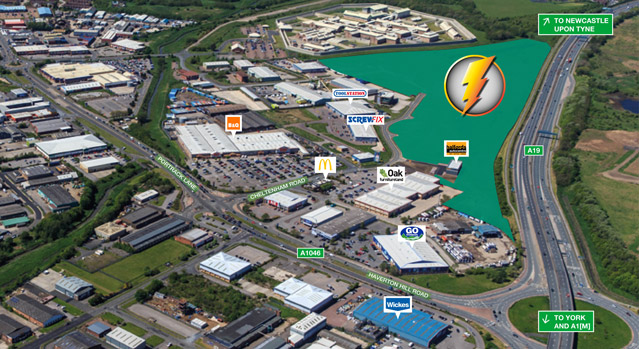 Stockton Business Park, Middlesborough