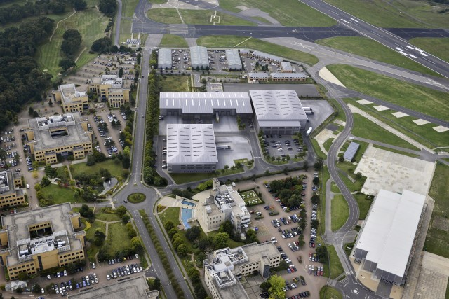 Voyager launches in Farnborough