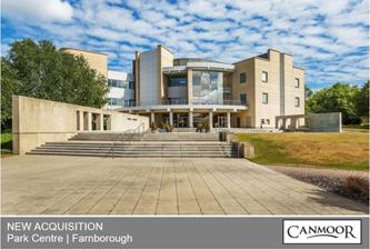 Canmoor portfolio expands in Farnborough